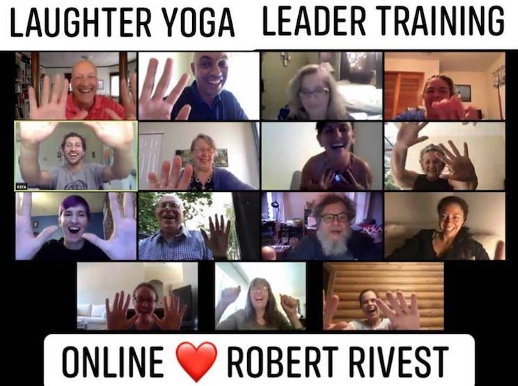 Laughter Yoga LEADER TRAINING  (2-Day) Online! Zoom Training! Robert-Rivest-Online-Laughter-Yoga-Leader-Training.jpg